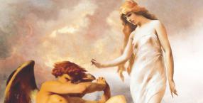 Bóg, Lucyfer, rajski romans, Orygenes, samokastracja, Lilith, Hewa, pierwsza żona Adama, raj, niosący światło, succuby, incuby, rebelia w raju, Stwórca, Adam, Gwiazda Poranna