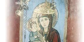 wiara, żyjące portrety, nadprzyrodzone moce, święte obrazy, Madonna z Madaby