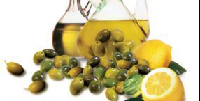 oliwa, oleje, kosmetyki z olejami, kwasy tłuszczowe, omega-3, omega-6, cytryna