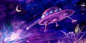 UFO eksperymentuje