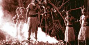 ogień, chodzenie po ogniu, fire-walk