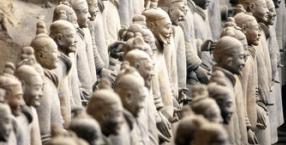 Qin Shi Huangdi, cesarz Chin, Chiny, cesarstwo, Qin