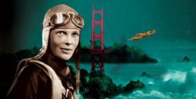 samoloty, Amelia Earhart, królowa przestworzy, pilotka