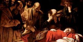 Zaśnięcie Marii, Caravaggio, śmierć Maryi, Michelangelo Merisi