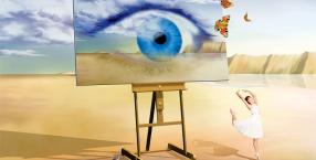 wizje, mózg, umysł, pamięć, neurony, fantazja