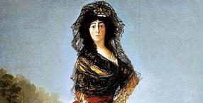 Francisco de Goya y Lucientes, Maria del Pilar de Silva, obraz, historia