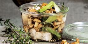 grzyby, gotowanie, las, magiczna kuchnia