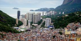 Ipanema, karnawał, Rio de Janeiro, Brazylia, favele, slumsy