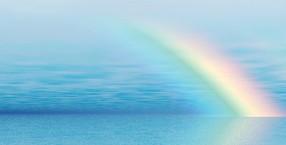 szczęście, symbole, barwy, aura, pogoda, tęcza
