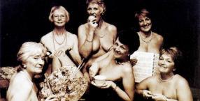 kobiety, dziewczyny z kalendarza, wiek średni