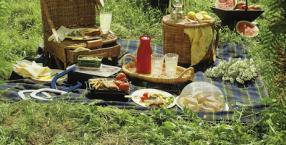 dieta, kuchnia, posiłki, Pięć Przemian, majówka, piknik