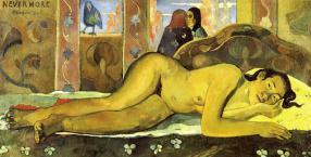 Paul Gauguin, obraz, sztuka, Monika Małkowska, Haiti