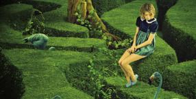 rośliny, roślinność, raj, ogród, symbol, magiczny przedmiot, atrybut, pierścień, zieleń