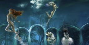 zaklęcia, ogień, magia, przesilenie, zioła, kwiaty, miłość, noc świętojańska, sobótka, wróżby