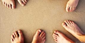 uroda, stopy, przyszłość, wróżba, nogi, stopa, palec, pięta, paznokieć, kartopedia