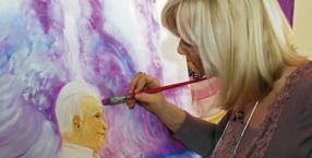 kolory, aura, malowanie aury, Regina Sidorkiewicz