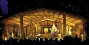 Rzym, Watykan, papież, Boże Narodzenie, święta, wigilia, Sacra Cula, żłobek, Jezus, szopka
