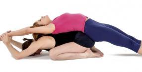 joga, zdrowie, ćwiczenia, asany, hatha-joga, para