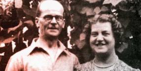 John Reginald Christie z żoną Ethel – też ją zamordował po 36 latach małżeństwa