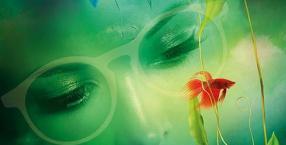 Kolor zielony na ból głowy