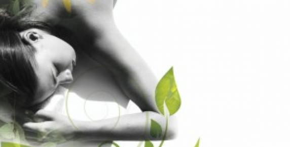 Parasol z roślin