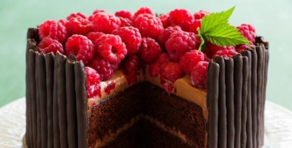 Dla Byka: Tort bardzo czekoladowy