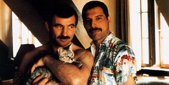 Freddie Mercury i jego partner