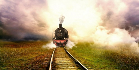 Ciacho w podmiejskim pociągu