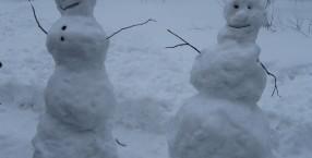 Kogo można spotkać zimą na swej drodze ..
