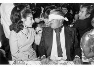 Śpiewaczka Maria Callas i grecki miliarder Arystoteles Onasis