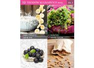 12 trendów kulinarnych: mąka z zielonych bananów, wodorosty, jagody acai, orzechy tygrysie