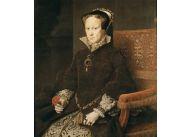 Perła La Peregrina na szyi Marii I Tudor zwaną Krwawą Mary; portret pędzla Anthonisa Mora z 1554 r.