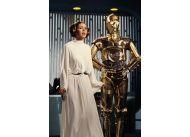 """Carrie Fisher w """"Gwiezdnych wojnach"""""""