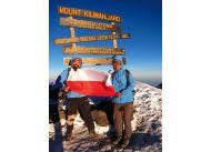 Pot i łzy, duży i mały Wojtek na najwyższym szczycie Afryki – Kilimandżaro (5895 m n.p.m.)