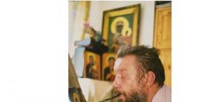 malarstwo, malowanie ustami, Henryk Paraszczuk, obrazy malowane ustami