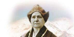 Himalaje, Tybet, Alexandra David, Muzeum Orientalne Guimeta, dzwonki tybetańskie