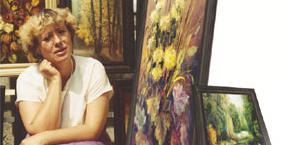 malarstwo, przeznaczenie, piekło, malarka Gina