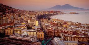 Neapol, Włochy, Wezuwiusz, wulkan, Pompeje