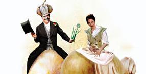 Romans czosnku z cebulą