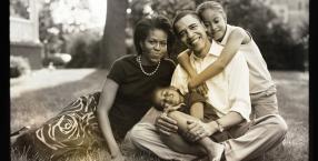 Michelle i Barack Obama, prezydent Stanów Zjednoczonych, pierwsza para Ameryki