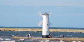morze, Morze Bałtyckie, Świnoujście, turystyka