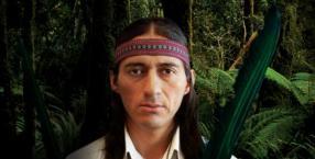Inkowie, duchy opiekuńcze, indiański szaman z Peru, Malku, człowiek mocy