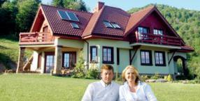 Ela i Grzegorz Elżbieta Łukacijewscy, Cisna, Bieszczady, góry, łowiectwo