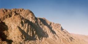 Cień świętej Góry Synaj