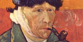 Vincent van Gogh, autoportret z obciętym uchem, malarz, malarstwo