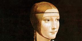 malarstwo, Leonardo da Vinci, malarz, obraz, Dama z łasiczką