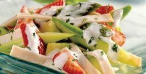 Szparagi z truskawkami