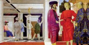 malarstwo, religie, Jezus Chrystus, obraz, Piero della Francesca