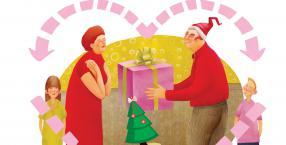 rodzina, Boże Narodzenie, święta, wigilia