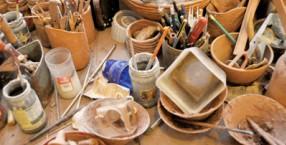 malarstwo, tkactwo, Łucznica, Zofia Bisiak, ceramika, sztuka, warsztaty